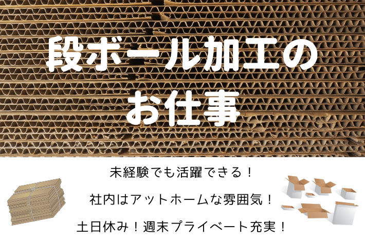 【急募】段ボール加工作業/横浜市金沢区/時給1,200円 イメージ